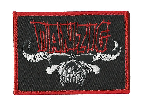 Danzig - Skull Logo Embroidered Patch