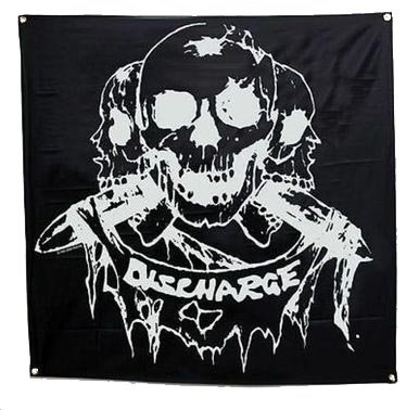 Discharge - Born To Die Flag