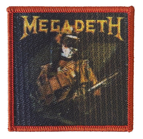 Megadeth - So Far, So Good, So What Embroidered Patch