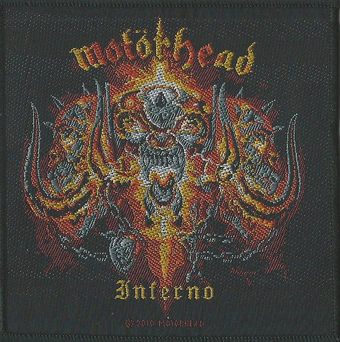 Motorhead - Inferno Woven Patch