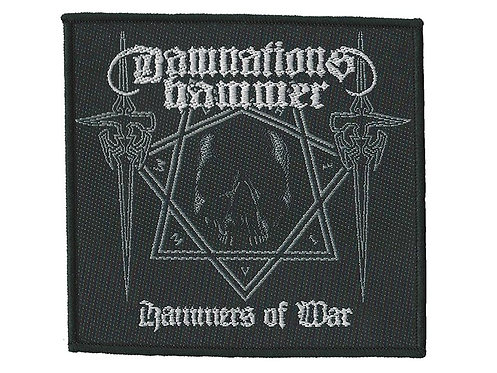 Damnation's Hammer - Hammers of War Woven Patch