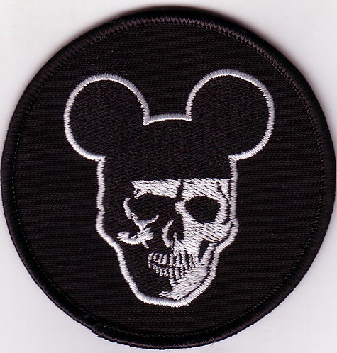 Ripcordz - Mickey Skull Embroidered Patch