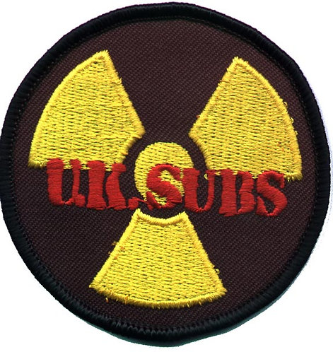 U.K. Subs - Countdown Embroidered Patch