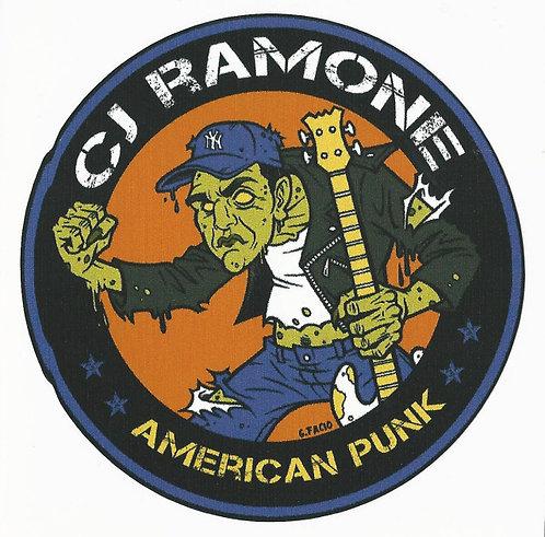 CJ Ramone - American Punk Zombie Sticker