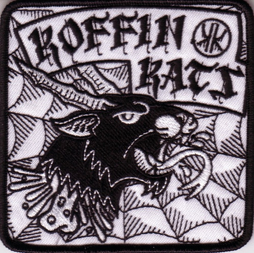 Koffin Kats - Hell Cat Embroidered Patch