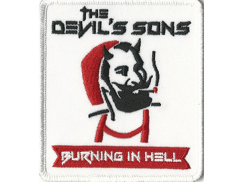 The Devil's Sons - Zig Zag Embroidered Patch