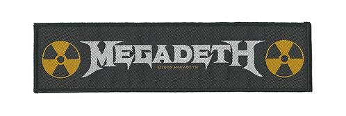 Megadeth - Logo Superstrip
