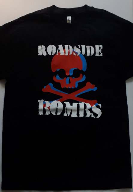 Roadside Bombs - Dual Skull T-Shirt