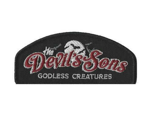 The Devil's Sons - Godless Creatures Embroidered Patch