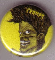 The Cramps - Zombie Pin