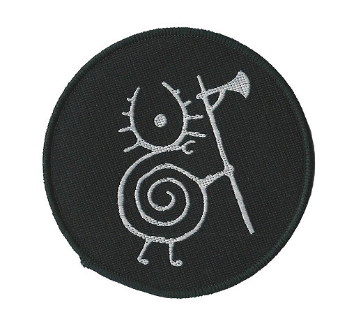 Heilung - Snail Warrior Woven Patch