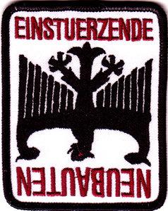 Einsteurzende Neubauten - Fallen Eagle Embroidered Patch