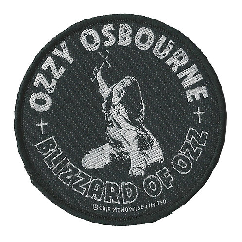 Ozzy - Blizzard of Ozz Woven Patch