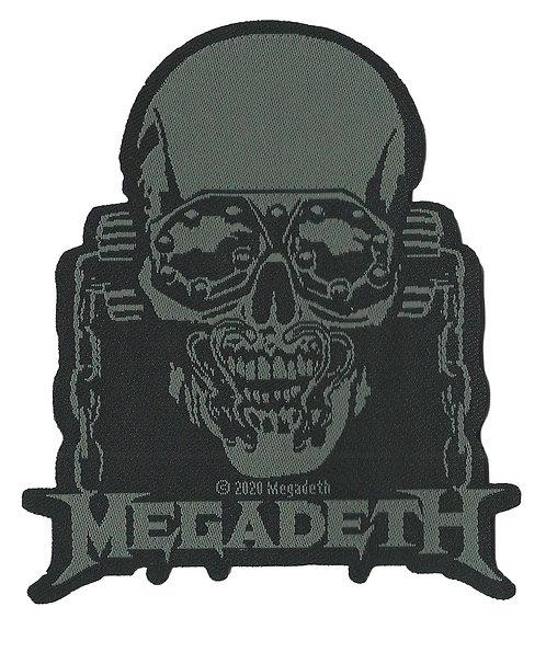 Megadeth - Rattlehead  Woven Patch