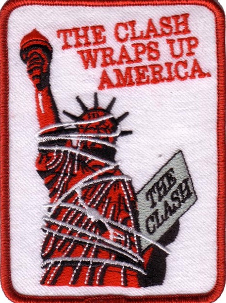 The Clash - Wraps Up America Embroidered Patch