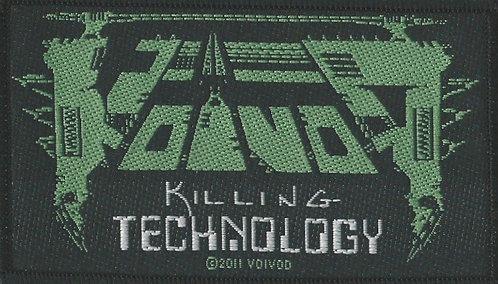 Voivod - Killing Technology Woven Patch
