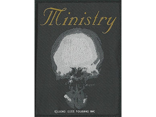 Ministry - The Mind Is a Terrible Thing to Taste Woven Patch