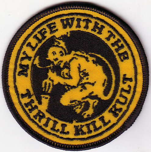 My Life with the Thrill Kill Kult - Gargoyle Embroidered Patch