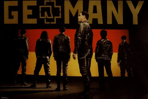 Rammstein - Germany Poster