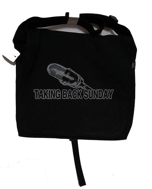 Taking Back Sunday - Microphone Messenger Bag