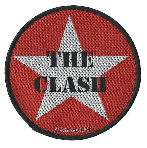 The Clash - Airforce Star Woven Patch