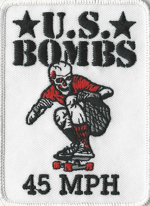 U.S. Bombs - 45 mph Embroidered Patch