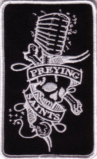 The Preying Saints - Microphone Embroidered Patch