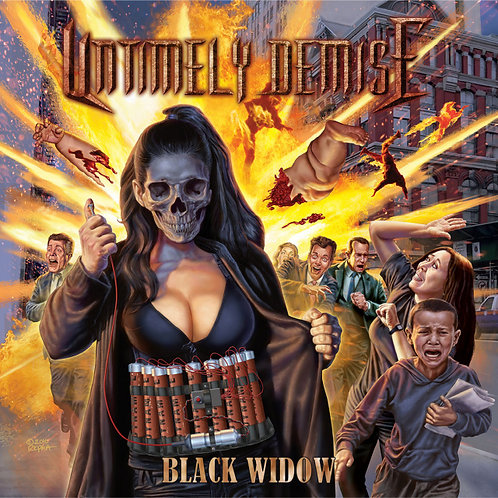 Untimely Demise - Black Widow CD
