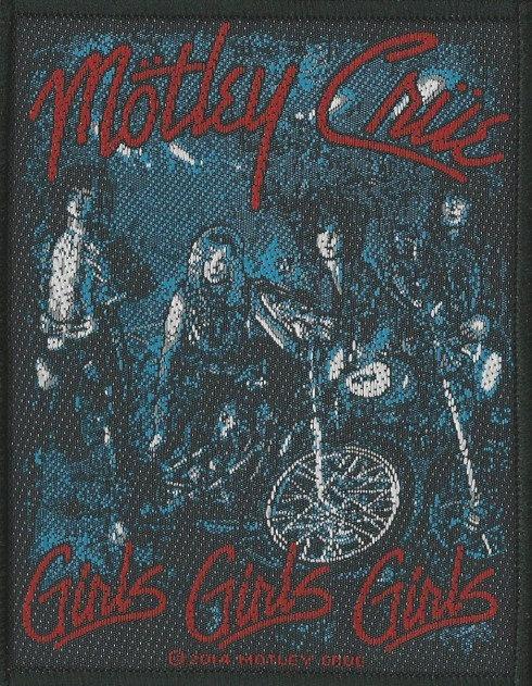 Motley Crue - Girls Girls Girls Woven Patch