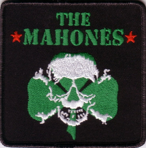 The Mahones - Clover Skull Embroidered Patch