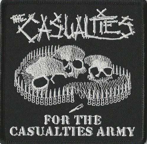 The Casualties - For The Casualties Army Embroidered Patch