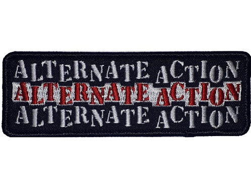 Alternate Action - Namebar Embroidered Patch
