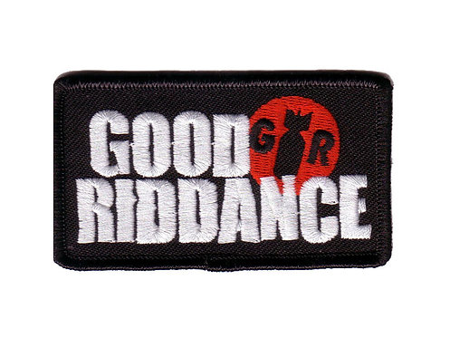 Good Riddance - Logo Embroidered Patch