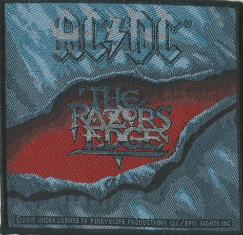 AC/DC - Razor's Edge Woven Patch