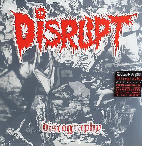 Disrupt - Discography 4xLP Set