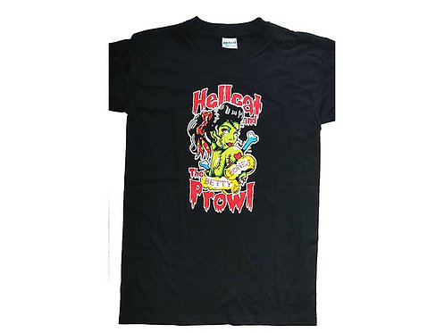 Hellcat and the Prowl - Betty Bones T-Shirt
