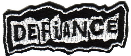 Defiance - Torn Logo Embroidered Patch