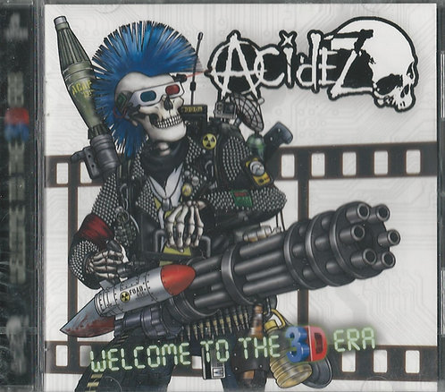 Acidez - Welcome to the 3D Era CD