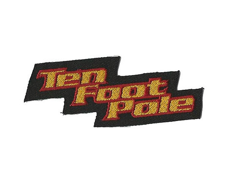 Ten Foot Pole - Logo Embroidered Patch