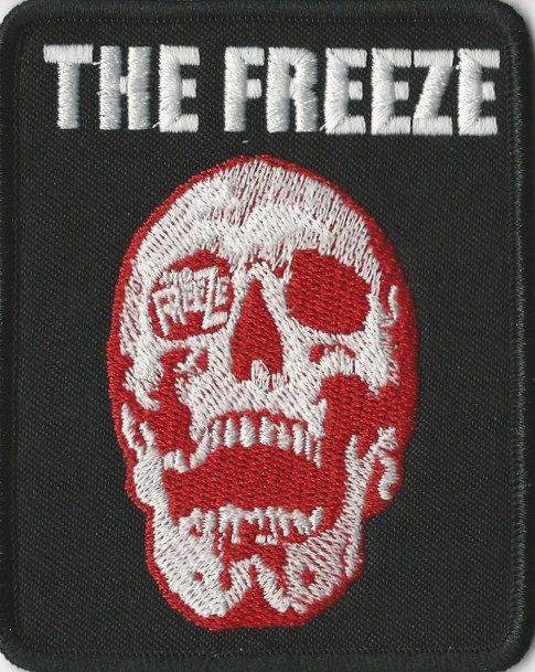 The Freeze - Red Skull Embroidered Patch
