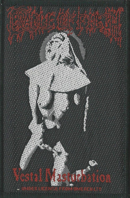 Cradle of Filth - Vestal Masturbation Woven Patch