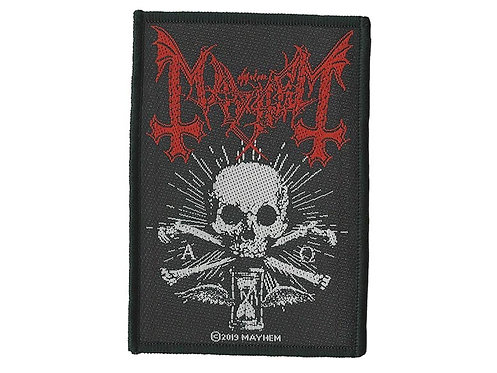 Mayhem - Alpha Omega Daemon Woven Patch
