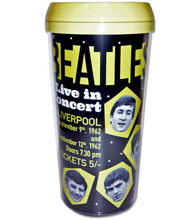 The Beatles - Live in Concert Liverpool Travel Mug