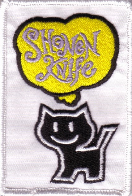 Shonen Knife - Cat Embroidered Patch