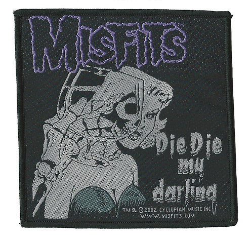 Misifts - Die Die My Darling Woven Patch