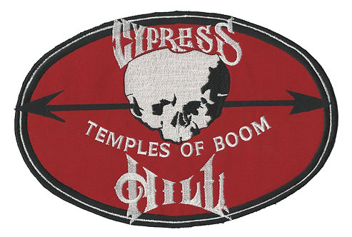 Cypress Hill - Temples of Boom Jumbo Backpatch