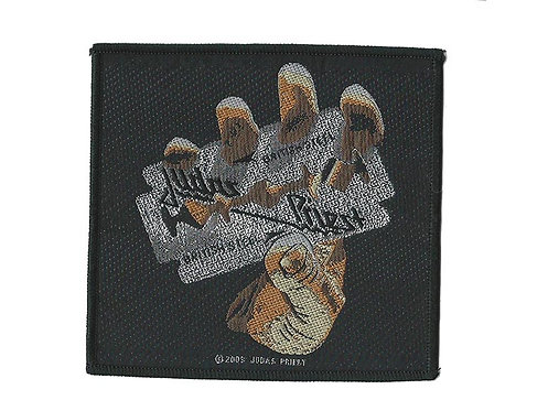 Judas Priest - British Steel Woven Patch