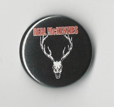 The Real McKenzies - Stag Pin