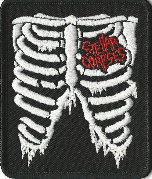 Stellar Corpses - Ribcage Embroidered Patch