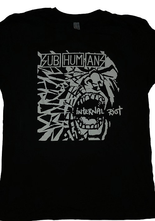 Subhumans - Internal Riot T-Shirt